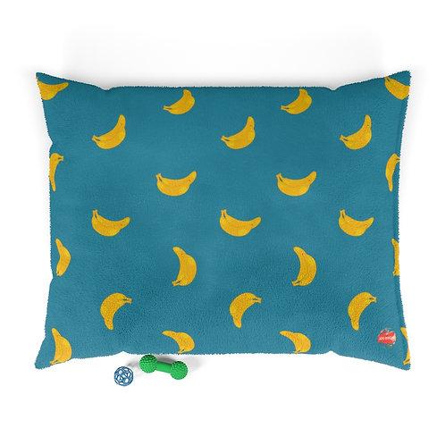 Banana Pattern Pet Bed