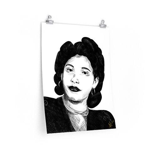 Abuela Poster 18x24