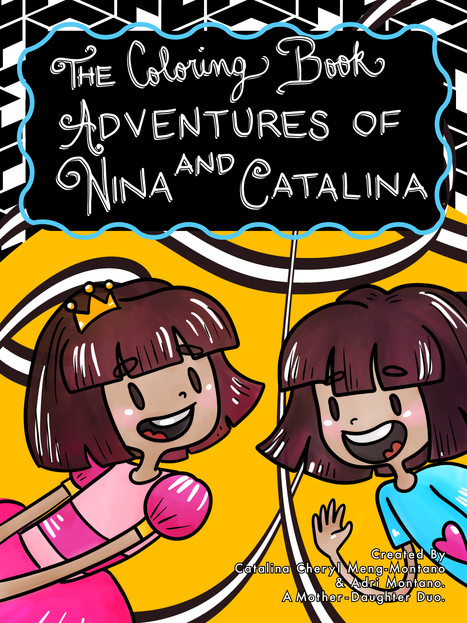 The Coloring Book Adventures of Nina and Catalina Cover