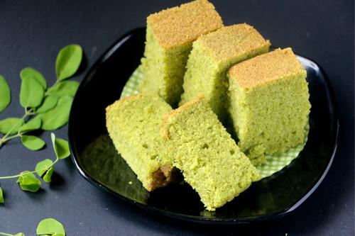 Cake prepared with Moringa