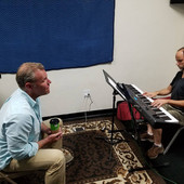 Rehearsing with the piano