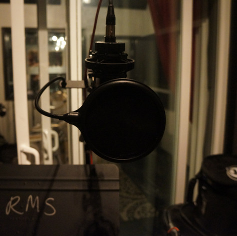 The microphone is ready