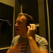 Singing in the studio