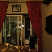 The view from the recording room