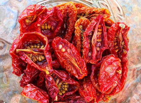 Simply Delicious Oven Dried Tomatoes