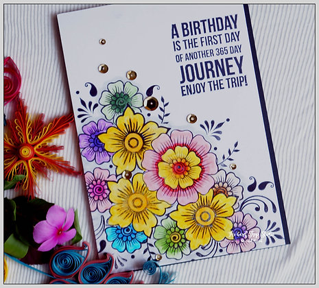 Colourful Journey Birthday Wishes