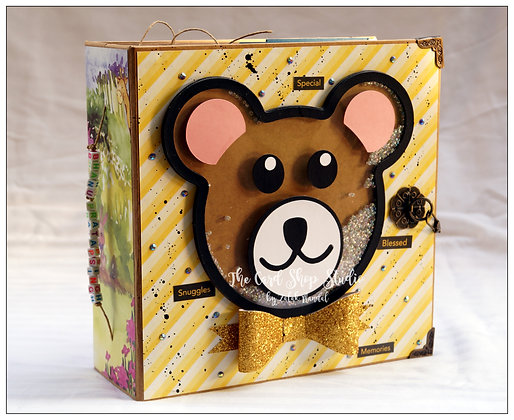 Teddy Bear 3D Pop-Up Train Album