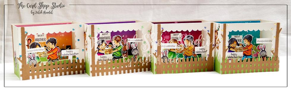 3D Shadow Box Themed Cards