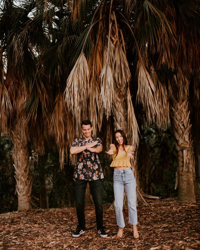 Balboa Park San Diego Engagement Shoot