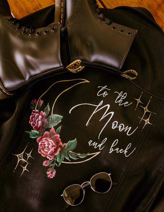 to the moon and back leather bridal jacket doc martens