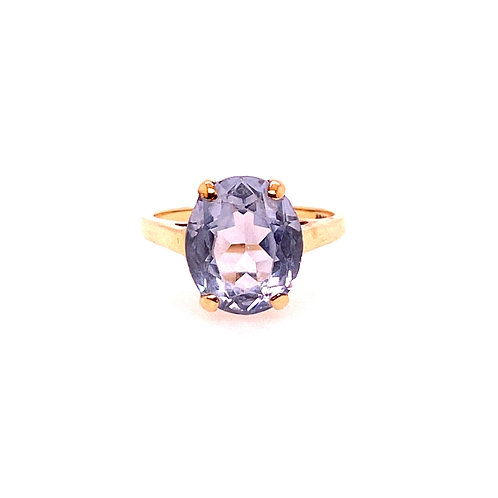 Estate 14kt Yellow Gold Synthetic Spinel Ring