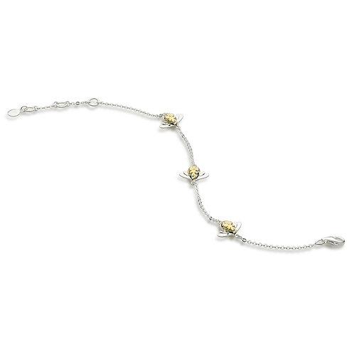 Sterling Silver Bumblebee Bracelet