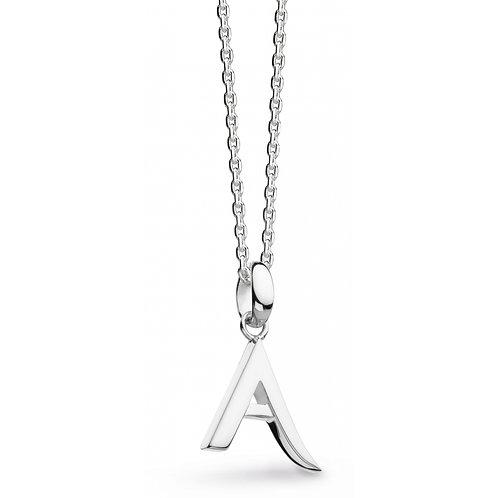 "Sterling Silver Signature Classic ""A"" Pendant"