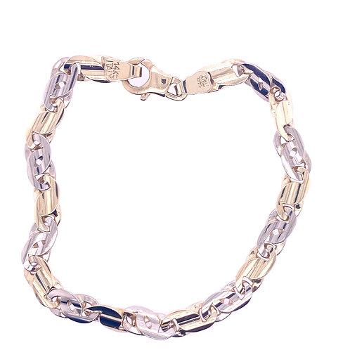 Estate 14kt Yellow Gold Mariner Link Bracelet
