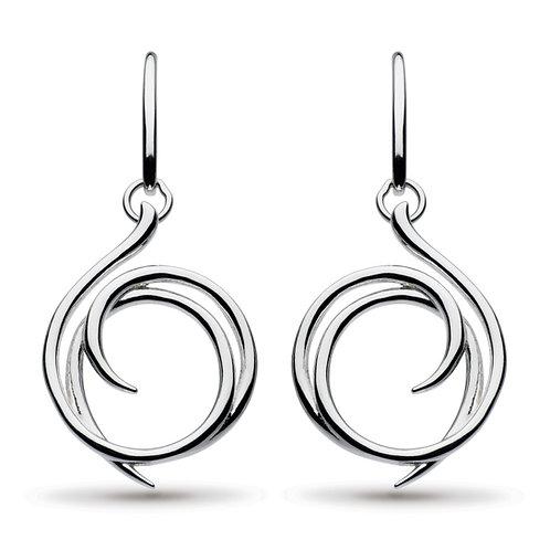 Entwine Helix Wrap Drop Earrings