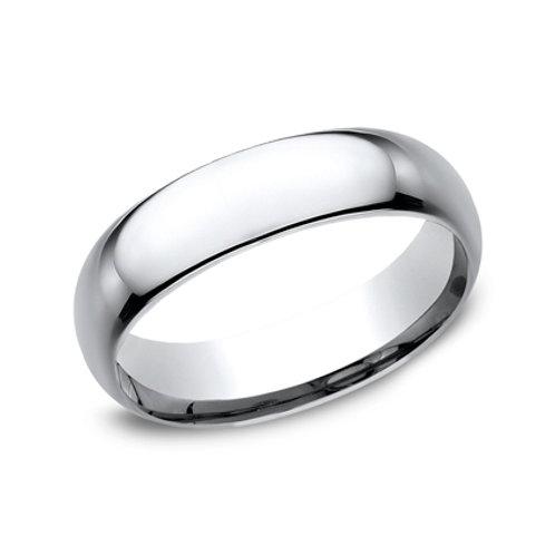 Cobalt Chrome Plain Wedding Band