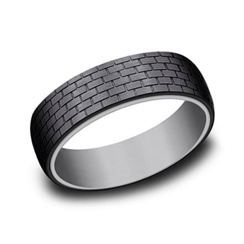 Tantalum/Titanium Men's Wedding Band