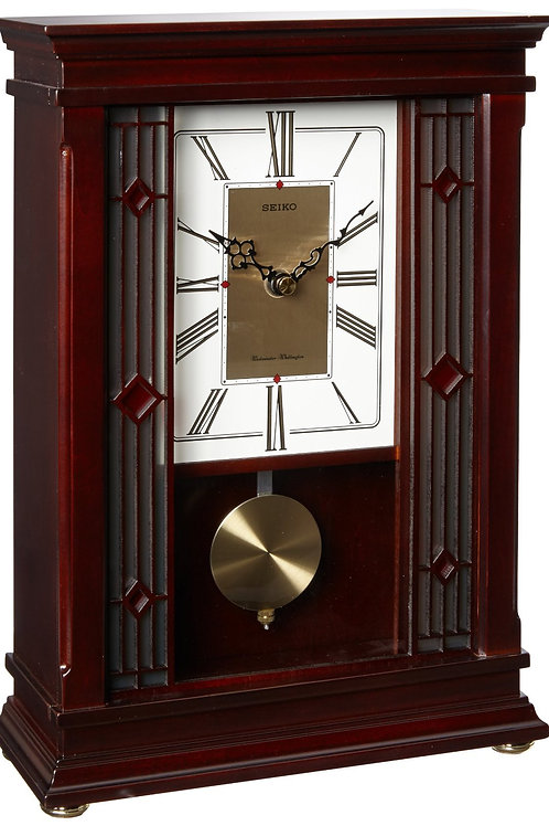 Seiko Wooden Dual Chime Clock