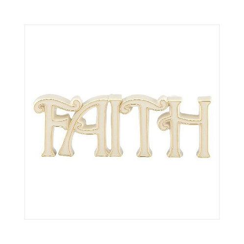 """Lenox """"Faith"""" Word Sculpture"""