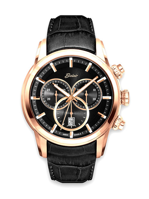 Rose Gold Plated Belair Gents Watch