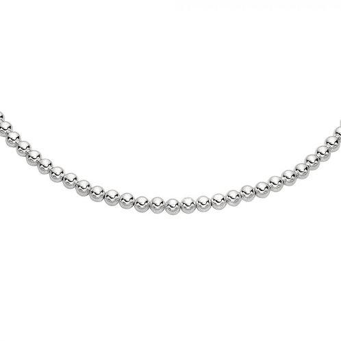 Sterling Silver 6mm Bead Bracelet