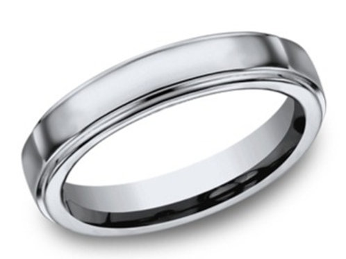 Titanium Edged Wedding Band