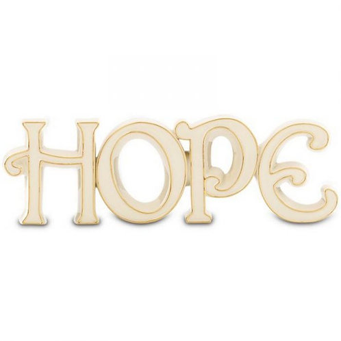 "Lenox ""Hope"" Word Sculpture"