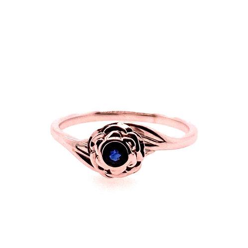 14kt White Gold Sapphire Ring