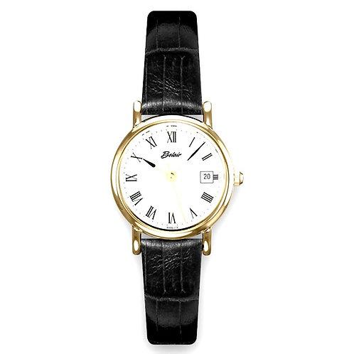 "Yellow Belair ""Fliegauf"" Roman Numeral Lady's Watch"