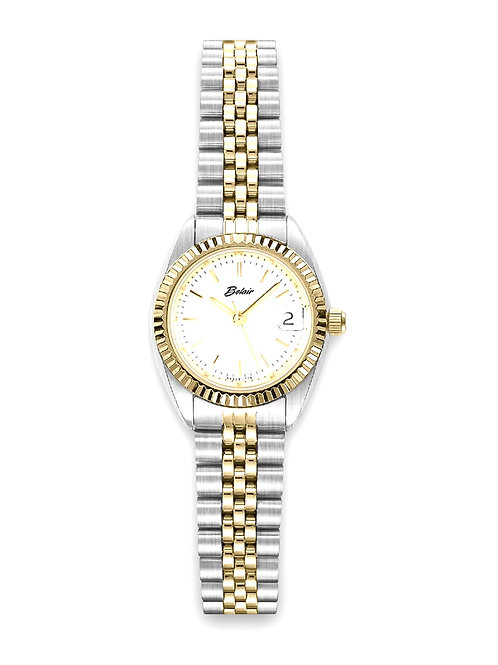 "Two Toned Belair ""Fliegauf"" Lady's Watch"