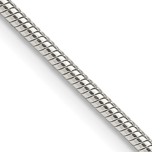 Sterling Silver 1.75mm Snake Chain