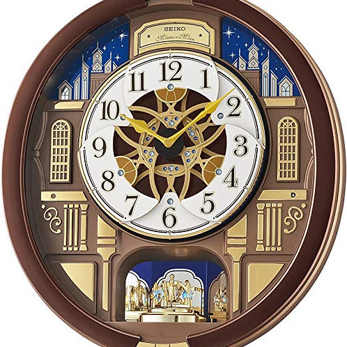 """""""Melodies in Motion"""" Wall Clock"""
