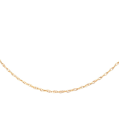 Estate 14kt Yellow Gold Pendant Style Chain