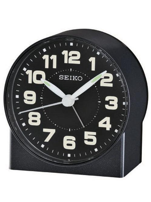 Seiko Black Alarm Style Clock