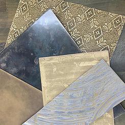 A range of Metalier samples
