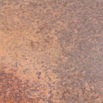 Metalier Iron liquid metal coatings.  Smooth metal finish with light rust effect.