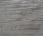 Metalier Smokey Bronze liquid metal coating.  Textured metal finish in Woodgrain pattern.