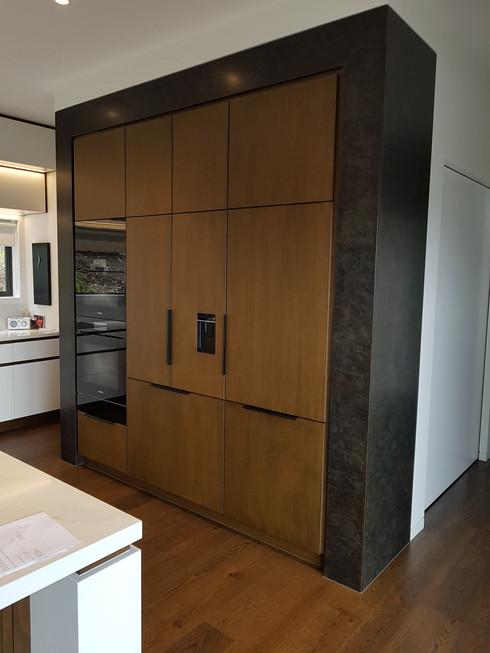 Cupboard surround in Aged Dark Moody Bronze