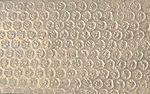 Metalier Bronze liquid metal coating.  Textured metal finish in Bubbles pattern.