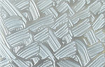 Metalier Aluminium liquid metal coating.  Textured metal finish in Brushstroke pattern
