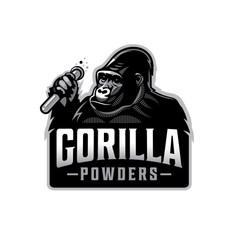 Gorilla Powders - Logo design