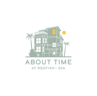 About Time - Rental House Logo design