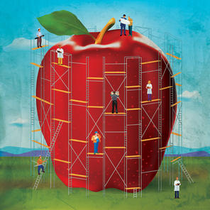 Apple Company Poster