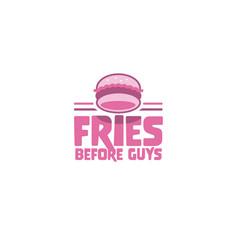 Frie Before Guys - Logo design