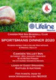 Camden Red Sox Sportsman Dinner Poster.p