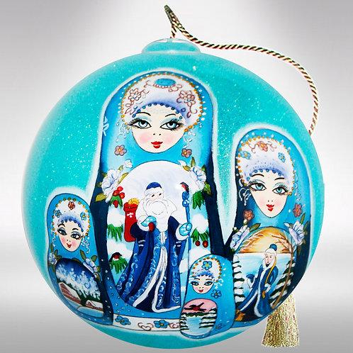 Nesting Dolls Ornament