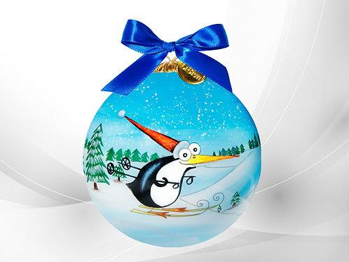 Skiing Penguin