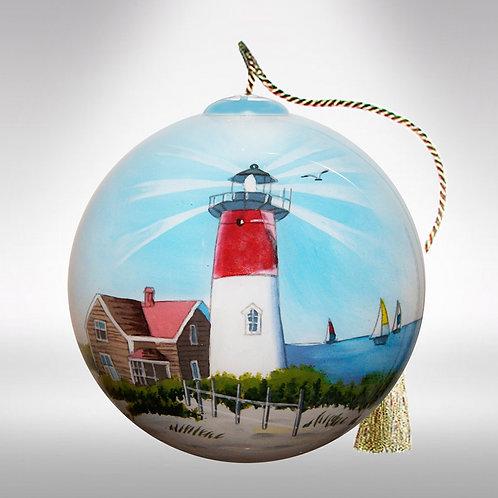 Lighthouse on a coast