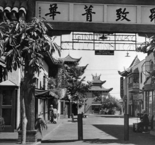 A 1950s Chinatown