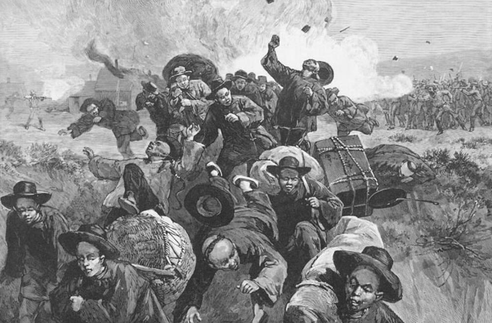 Rock Springs Massacre, Wyoming, 1885